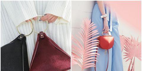 Textile, Peach, Bag, Orange, Shoulder bag, Leather, Wallet, Home accessories, Feather,