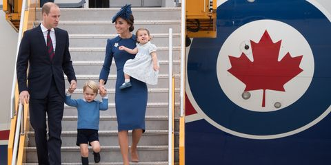 Trousers, Coat, Dress, Suit, Tie, Toddler, Family, Holding hands, Family pictures, Maple leaf,