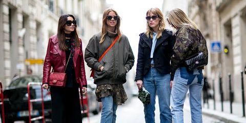 Clothing, Eyewear, Footwear, Vision care, Leg, Trousers, Denim, Bag, Textile, Sunglasses,