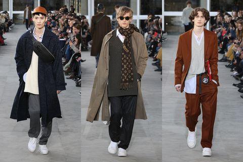 Eyewear, Trousers, Outerwear, Coat, Style, Sunglasses, Collar, Street fashion, Goggles, Street,