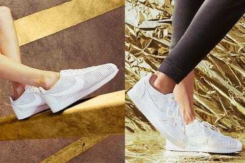 Footwear, White, Shoe, Human leg, Leg, Ankle, Plimsoll shoe, Calf, Joint, Photography,