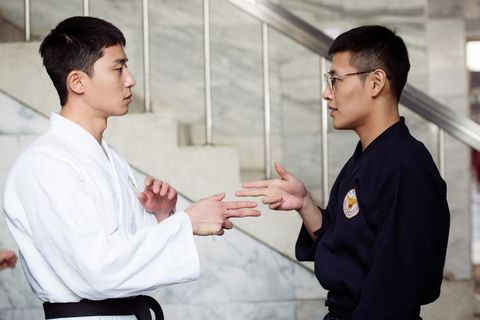 Martial arts uniform, Karate, Martial arts, Hapkido, Shidokan, Individual sports, Kenpō, Dobok, Kinomichi, Shorinji kempo,
