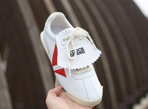Shoe, White, Carmine, Athletic shoe, Sneakers, Walking shoe, Grey, Beige, Tennis shoe, Skate shoe,