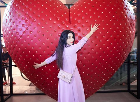Pink, Red, Design, Fun, Polka dot, Heart, Pattern, Formal wear,