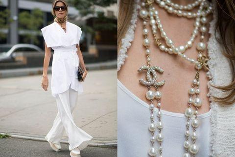 Fashion accessory, Style, Jewellery, Sunglasses, Street fashion, Natural material, Chain, Body jewelry, Fashion, Neck,
