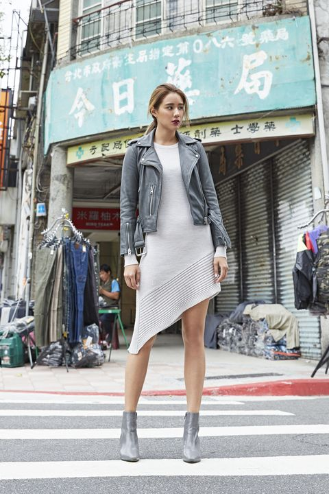 Clothing, Outerwear, Street, Style, Street fashion, Bag, Fashion, Dress, Luggage and bags, Pattern,