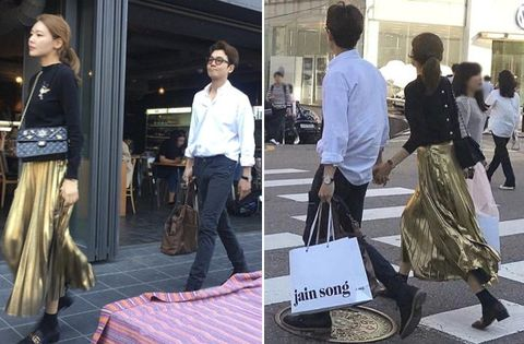 Trousers, Style, Bag, Street fashion, Fashion, Waist, Luggage and bags, Snapshot, Pedestrian, Drum,