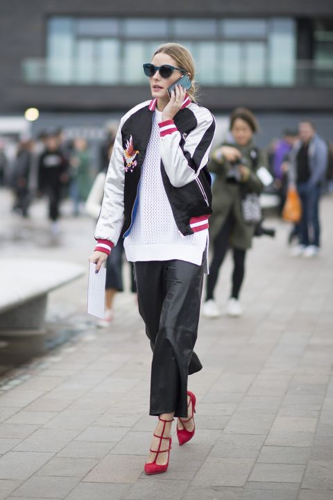 Trousers, Outerwear, Street, Sunglasses, Hat, Bag, Pink, Style, Collar, Coat,