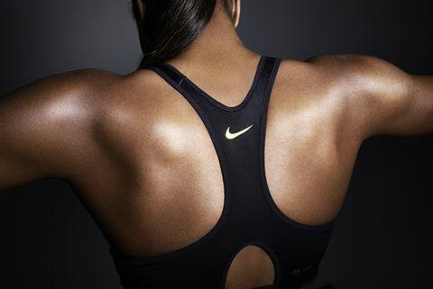 Shoulder, Joint, Chest, Neck, Back, Muscle, Active tank, Undershirt, Trunk, Undergarment,