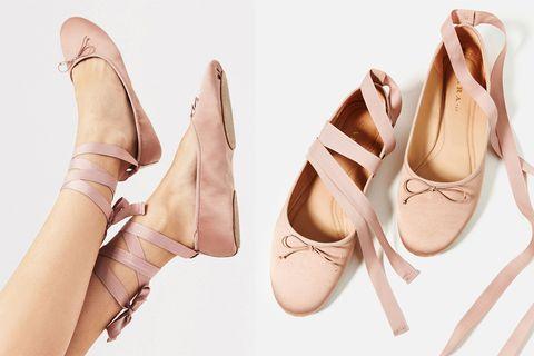 Footwear, Brown, Pink, Tan, Fashion, Beige, Peach, Ivory, Fashion design, Fawn,