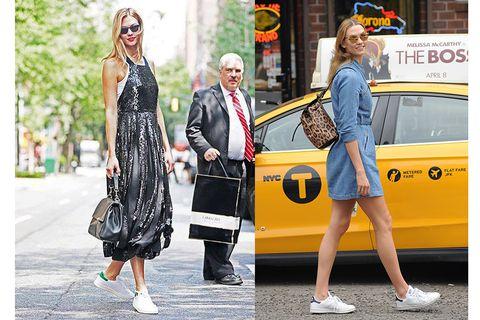 Eyewear, Yellow, Automotive design, Dress, Outerwear, Coat, Car, Bag, Style, Street fashion,