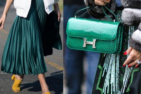Green, Textile, Style, Street fashion, Bag, Teal, Fashion, Turquoise, Luggage and bags, Wool,