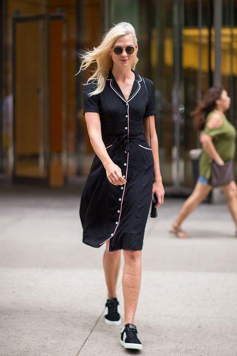 Clothing, Eyewear, Leg, Sleeve, Human leg, Shoulder, Sunglasses, Joint, Dress, Bag,