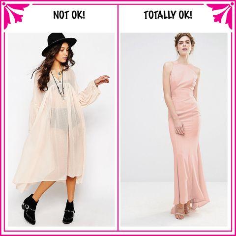 Clothing, Sleeve, Shoulder, Dress, Pattern, Collar, Pink, Formal wear, Magenta, Style,