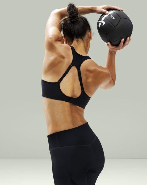 Arm, Ball, Finger, Sportswear, Sports uniform, Sports equipment, Elbow, Shoulder, Human leg, Sleeveless shirt,