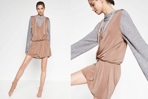 Sleeve, Collar, Shoulder, Textile, Joint, Style, Fashion model, Fashion, Neck, Waist,