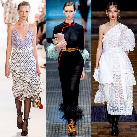 Clothing, Dress, Pattern, Style, Waist, Fashion model, One-piece garment, Fashion, Neck, Day dress,
