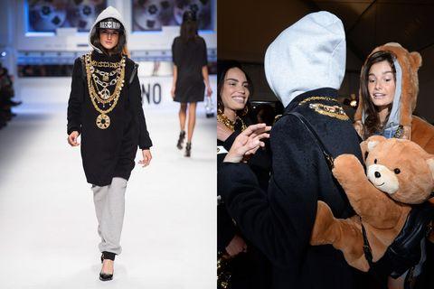 Human, Textile, Stuffed toy, Style, Plush, Winter, Headgear, Street fashion, Fashion, Fur,