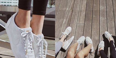 Human, Human leg, Shoe, Joint, Grey, Beige, Foot, Ankle, Bridal shoe, Walking shoe,