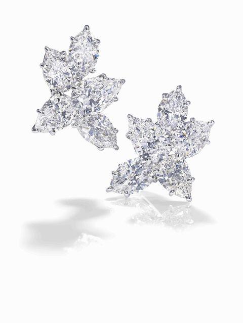 White, Brooch, Silver, Crystal, Diamond, Snowflake, Gemstone, Body jewelry, Still life photography,