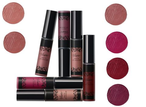 Pink, Cosmetics, Red, Beauty, Product, Lip care, Lip gloss, Lipstick, Brown, Eye shadow,