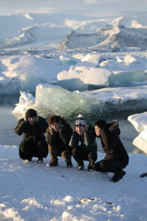 Winter, Freezing, Ice cap, Snow, People in nature, Ice, Glacial landform, Adventure, Glacier, Polar ice cap,