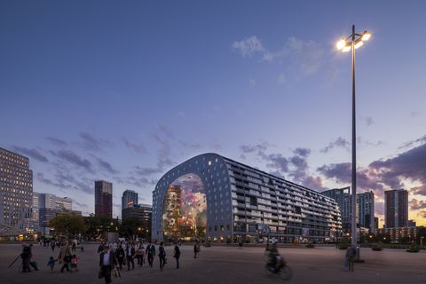 MVRDV:Markthal Rotterdam