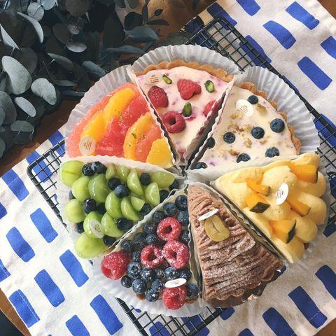 Food, Dish, Fruit salad, Cuisine, Sweetness, Fruit, Brunch, Platter, Basket, Ingredient,