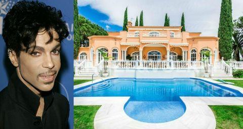 Swimming pool, Black hair, Real estate, Azure, Aqua, Villa, Estate, Mansion, Water feature, Hacienda,