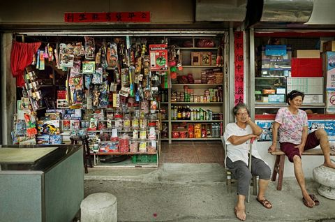 Retail, Convenience store, Snapshot, Town, Building, Grocery store, Street, Shopkeeper, Bookselling, Vacation,