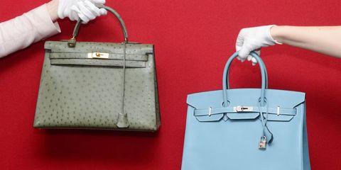 Handbag, Bag, Birkin bag, White, Fashion accessory, Tote bag, Kelly bag, Material property, Luggage and bags, Shoulder bag,
