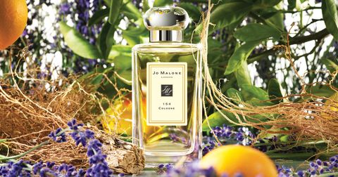 Perfume, Purple, Lavender, Twig, Basket, Natural material, Cosmetics,