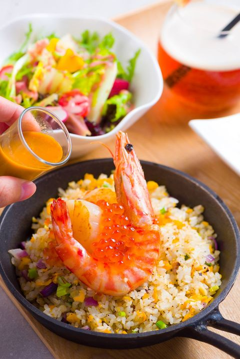 Dish, Food, Cuisine, Thai fried rice, Rice, Ingredient, Couscous, Fried rice, Steamed rice, Risotto,