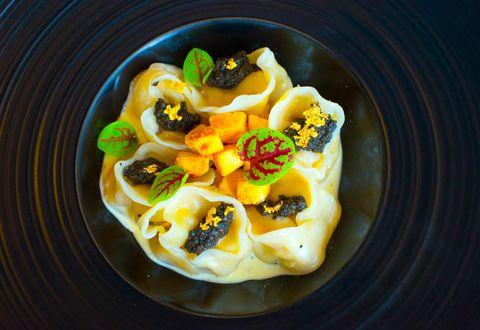 Food, Cuisine, Recipe, Dish, Ingredient, Cooking, Breakfast, Staple food, Tortelloni, Culinary art,
