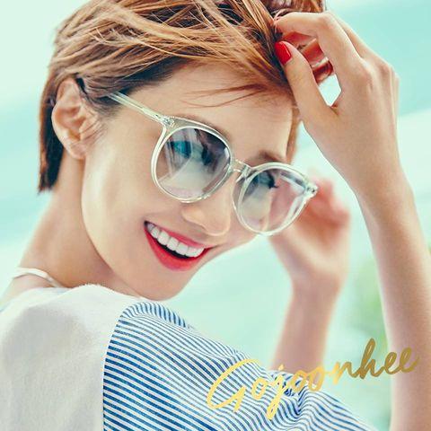 Eyewear, Vision care, Finger, Lip, Glasses, Hairstyle, Skin, Goggles, Eyebrow, Eyelash,