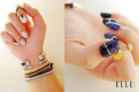 Blue, Finger, Skin, Nail, Fashion accessory, Nail care, Amber, Nail polish, Liquid, Manicure,