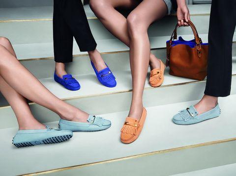 Footwear, Brown, Shoe, Human leg, Joint, White, Style, Tan, Foot, Bag,