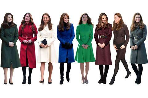 Clothing, Leg, People, Sleeve, Dress, Social group, Textile, Standing, Coat, Formal wear,