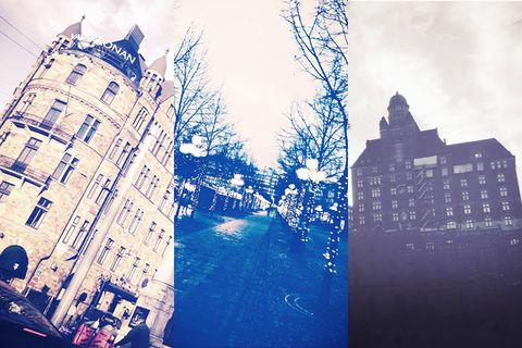 Building, Facade, City, Metropolitan area, Metropolis, Urban area, Tower block, Urban design, Apartment, Reflection,