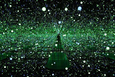 Green, Space, Precipitation,