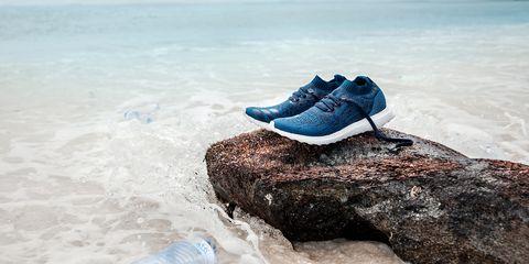 Blue, Footwear, Aqua, Turquoise, Shoe, Sky, Sea, Azure, Ocean, Beach,