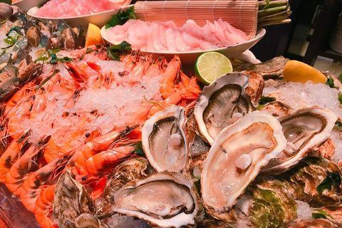 Food, Ingredient, Seafood, Pink, Tableware, Peach, Bivalve, Recipe, Shellfish, Arthropod,