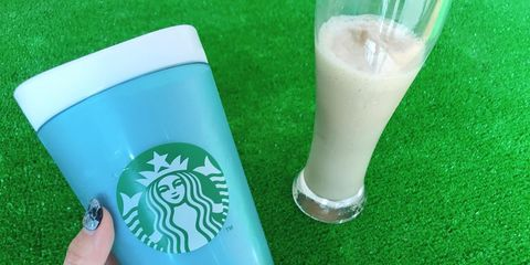Green, Hand, Drink, Nail, Dairy, Smoothie,
