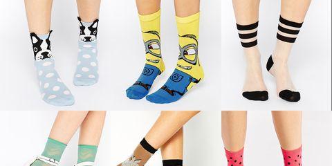 Green, Human leg, Joint, White, Style, Sock, Teal, Fashion, Knee, Aqua,