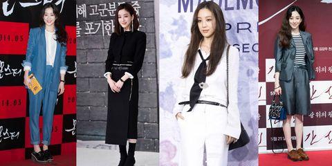 Product, Sleeve, Outerwear, Collar, Formal wear, Style, Blazer, Street fashion, Fashion, Black hair,