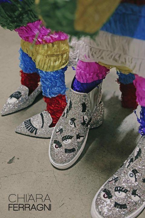 Pink, Magenta, Purple, Carmine, Violet, Silver, Sock, Walking shoe, Synthetic rubber,
