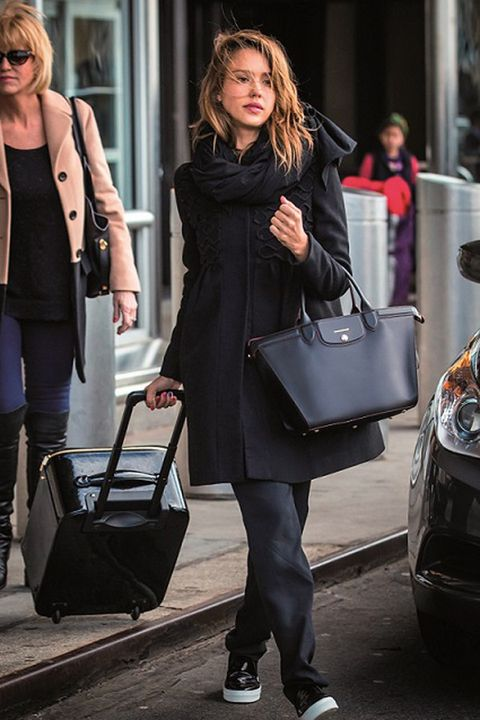 Clothing, Leg, Trousers, Bag, Coat, Photograph, Outerwear, Style, Street fashion, Fashion accessory,