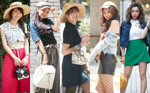 Clothing, Face, Hat, Smile, Sleeve, Bag, Outerwear, Style, Sun hat, Fashion accessory,