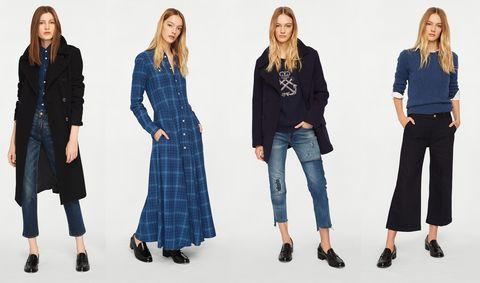 Clothing, Denim, Blue, Jeans, Tartan, Plaid, Fashion, Pattern, Outerwear, Textile,