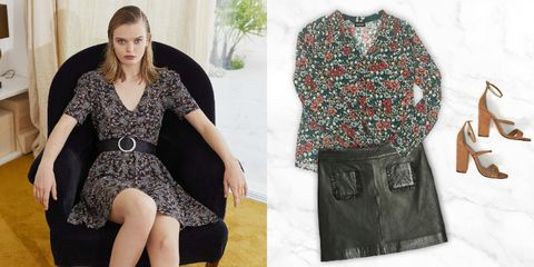Clothing, Black, Dress, Fashion, Footwear, Pattern, Outerwear, Pattern, Waist, Design,